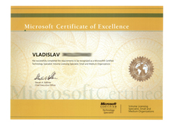 Microsoft Certified Technology Specialist - Volume Licensing Specialist, Small and Medium Organizations