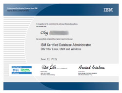 IBM Certified Database Associate DB2 9 for Linux, Unix and Windows