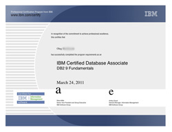 IBM Certified Database Associate