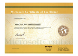Microsoft Certified Technology Specialist - Windows Server 2008 R2, Server Virtualization